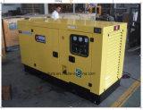 30kVA無声防音の電気Cumminsの発電機ディーゼル生成セット