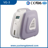 Preiswerte Ausrüstungs-O2-Maschinen-beweglicher Sauerstoff-Konzentrator Vg-3