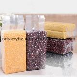 Sac en nylon transparent de riz/sac d'empaquetage en plastique/sac de vide