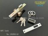 Gesetzter doppelter Zylinder-toter Verschluss der Sicherheits-Zl-81054-A1