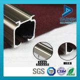 Perfil de aluminio del perfil del carril de la cortina de la venta caliente con anodizado