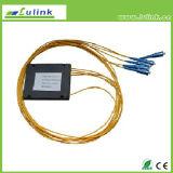 Divisore ottico del PLC della fibra dell'accoppiatore ottico del contenitore DWDM di ABS