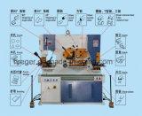 Serrurier hydraulique, découpage, usine sidérurgique, poinçonneuse, machine de poinçon et de tonte universelle