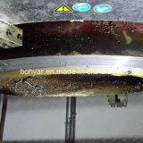 分割フレーム、電動機(SFM2430E)で切断し、面取り機
