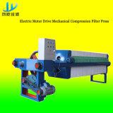 Máquina automática da imprensa de filtro da membrana do desempenho estável para o tratamento de Wastewater industrial