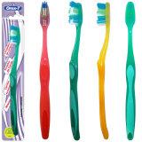 Cepillo de dientes adulto plástico barato de la venta al por mayor del fabricante de China