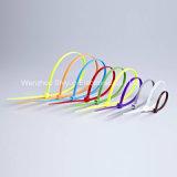 7 '' serres-câble en nylon noirs de 40lbs White/UV