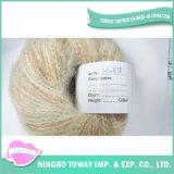 Barato tricot de tecelagem de fios de lã de alpaca algodão grosso