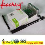 Custom Printing Logo Camera Cair Tag Caixa de papel com PVC Window / Clam
