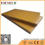 家具のための高い光沢のあるブラウンのメラミン合板