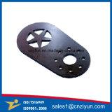 Hoja de metal de acero de corte por láser piezas de servicio con la capa del polvo