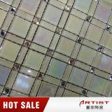 Mosaico de vidro diamante colorido, mosaico de mosaico mágico