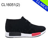 Casual Leather Sports Men Running Boots