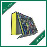 Caixa de presente de papel colorida da alta qualidade para a venda por atacado