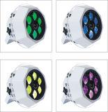 lumières d'effet d'UFO DEL de disco d'oeil d'abeille de 6X15W RGBW