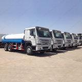 Carro de petrolero del agua de Sinotruk HOWO 251-350pH 10000L