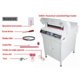 """офиса 18 """" автомат для резки бумажного резца сверхмощного 450mm автоматический электрический"""