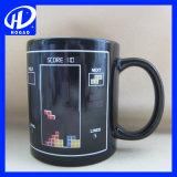 Tasse en céramique de changement de couleur en couleur Tasse de sublimation 3D de haute qualité