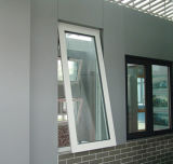 De aluminio escoger la ventana colgada con el vidrio doble