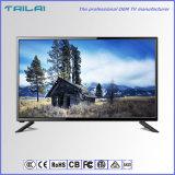 28 「HDのホテルのホームスマートなWiFi TV LEDの壁に取り付けられた広い視野角
