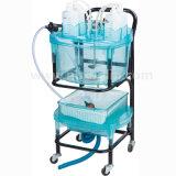 Planta de tratamiento de aguas residuales del laboratorio químico