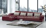 Mobília moderna da sala de visitas do sofá da tela da L-Forma (HX-F615)
