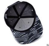 Manera Embroideried con varia talla, el material y el diseño del borde Snapback impreso, el sombrero, el casquillo en