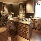 Beste Richtungs-heißes Verkaufs-Küche-Schrank-festes Holz