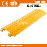 Gelber PU-Plastikkabel-Deckel zur Verkehrssicherheit