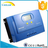 controlador solar Ys-50A da garantia do RoHS-FCC Certifications+2-Years do Ce- de 50A 12V/24V MPPT