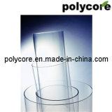 Tubo duro redondo del policarbonato transparente