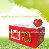 Inserimento di pomodoro inscatolato 800g organico dalla Cina