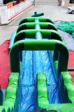 Tobogán gigante de agua inflable con diapositivas Slip N para Alquiler (CHSL492-2)