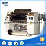 Máquina de tres capas de corte longitudinal para bobinas de papel