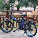 Bicicleta psta elétrica da cidade do lítio dos adultos
