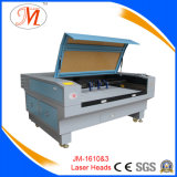 Machine de découpe et de gravure laser à 3 têtes pour la coupe de broderie (JM-1610-3T)
