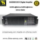 8-Kanal- Class-D- Professional Power Digitalverstärker ( DA4008 )