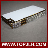 Étui en plastique avec Diamant Edge Sublimation pour iPhone 6