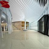 Telhas de alumínio do defletor do teto de Ascoustic usadas no escritório decorativo