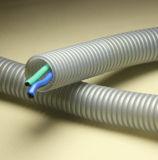 Tubo flexível de plástico resistente a UV com retentor de chamas