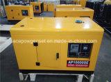 Générateur diesel mobile à une ou trois phases à 10kVA pour la maison