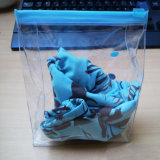 OEMの低価格透過PVCジップロック式の装飾的な袋