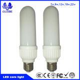 Buena luz de bulbo de la luz de bulbo del maíz del precio LED del nuevo producto E27 B22 7W 9W 12W 18W 22W LED