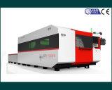 Máquina de laser de fibra Ipg 1500W para cortar metal grosso