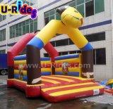 Коммерческие Monkey надувной замок с прыгающими мячами Bouncer надувной замок для продажи