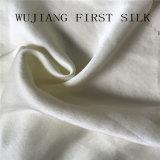 Solido di seta naturale del tessuto del raso di 100% tinto