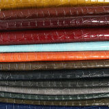 Крокодила конструкции фабрики кожа PVC PU самого нового кожаный кожаный синтетическая