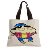 Taille standard Coton Canvas Storage Unisex Fashion Custom Shopping Tote Bag