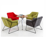 현대 강철 금속 기초 직물 실내 장식품 여가 의자 (HX-5CH055)