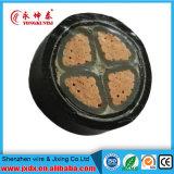 Подземный проводник XLPE/изолированный PVC силовой кабель меди низкого напряжения тока с бронированный